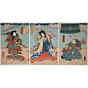 toyokuni III utagawa, Kabuki Play, Musume Dojoji