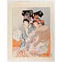 paul jacoulet, Dans La Loge Officielle, chinese costumes, french artist