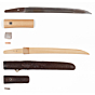 tanto, dagger, short sword, japanese sword, swordsmith, japanese blade, artisan, edo period