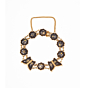 Komai Bracelet, Antique Jewellery, Butterfly Design, Gold, Metalwork, Nature, Animals, Flowers, Landscape, Original Japanese antique