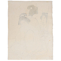 Goyo Hashiguchi, japanese bath, japanese woodblock print, antique, shin hanga, japanese hairstyle