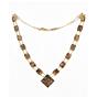 Komai Necklace, Antique Jewellery, Vintage, Landscape, Animal, Dragon, Metal, Gold, Original Japanese antique