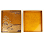Maki-e, Rinpa, Suzukibako, Calligraphy Set, Calligraphy box, Japanese antique