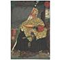 Kuniyoshi Utagawa, 12 Signs of the Zodiac, Mouse, Japanese woodblock print, Japanese antique