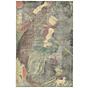 Kuniyoshi Utagawa, 12 Signs of the Zodiac, Dog, Japanese woodblock print, japanese antique, katana