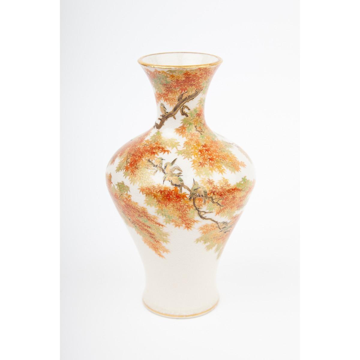 Vase japanese satsuma Antique Satsuma