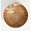 satsuma bowl, japanese antique, gilded, meiji period, porcelain, miniature