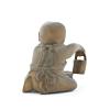 wooden netsuke, small boy