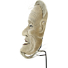 Ishiojo - Noh Mask of an Old Man, theatre, actor, hand-carved