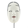 Ko'omote - Noh Mask of a Young Girl, traditional japanese theatre