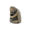 Wooden Netsuke, Tengu Blending Medicine, Yokai, Figurine, Carving, Original Japanese antique
