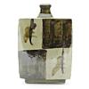 Shoji Hamada, Square Bottle Vase, Mingei, Japanese art, Japan