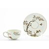 Yabu Meizan, Tea Cup and Saucer, Satsuma, Sakura, Japanese antique, Japanese art, Japan