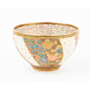 Dai Nippon Kozan Zo, Tea Bowl, Satsuma Ceramics, Butterflies, Japanese antique, Japanese art