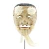 Okina, Noh Mask, Old Man, Theatre, Japanese antique, Japan