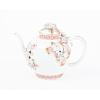 japanese antique, porcelain, arita, flower, glaze, teapot