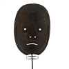 Ko-omote, Noh Mask of a Young Woman, Traditional, Theatre, Original Japanese antique