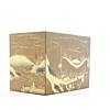 Kodansu, Small Lacquerware Cabinet for Incense, Wood, Landscape, Nature, Original Japanese antique