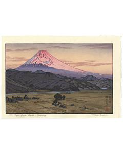toshi yoshida, ohito, morning, landscape