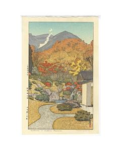 toshi yoshida, autumn, hakone museum, landscape