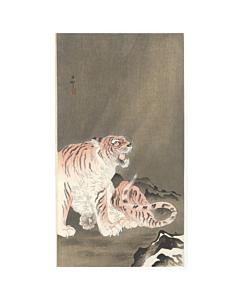 koson ohara, roaring tiger