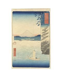 hiroshige I utagawa, mount fuji, japan travel