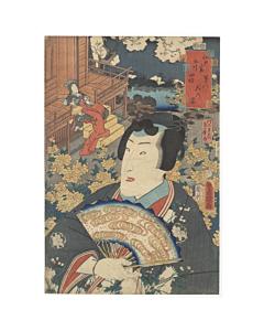 toyokuni III utagawa, tale of genji
