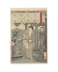 Yoshitoshi Tsukioka, Endo Shimpei, Personalities of Recent Times