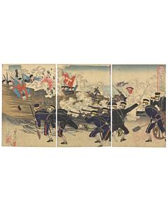 nobukazu yosai, japanese army, japanese history, battle, meiji era