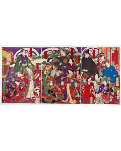 chikanobu yoshu, shogun, tokugawa family