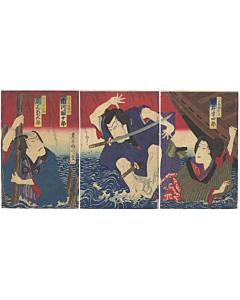 kunichika toyohara, kabuki play