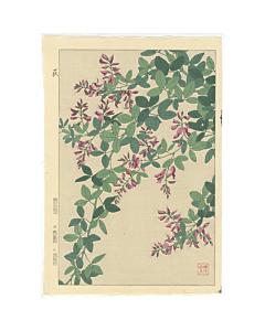 bush clover, botanical, japanese flowers, shodo kawarazaki