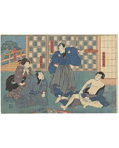 toyokuni III utagawa, kabuki theatre actors