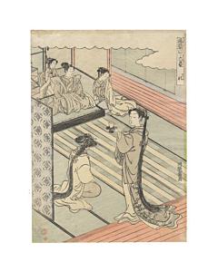 Koryusai Isoda, Rites, Six Arts in Current Custom, Edo Beauty