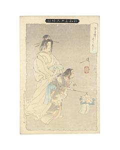 yoshitoshi tsukioka, peony lantern, New Forms of Thirty-six Ghosts