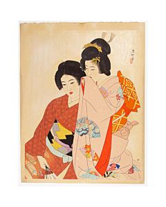 Ito Shinsui, Whisper, Shin-hanga Beauty