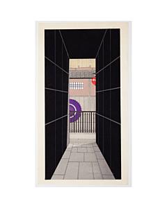 Teruhide Kato, A Back Alley, Kyoto, Contemporary Art