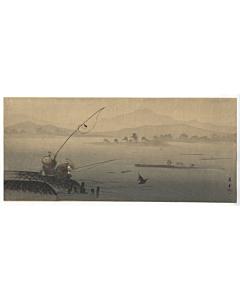 Shoun Yamamoto, Fishing by the River
