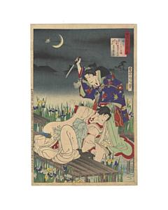 Kunichika Toyohara, Hototogisu, A Comparison of Kabuki Actors