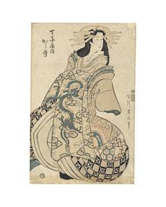 eizan kikugawa, courtesan, kimono design