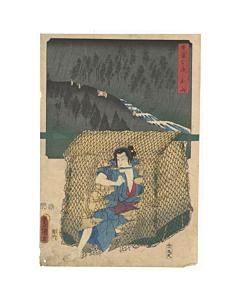 Hiroshige Ando, Toyokuni III Utagawa, tokaido, landscape, kabuki