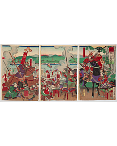 mosai nagashima, Siege of Futamata, samurai, warrior, battle