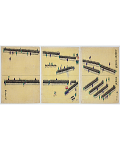 yoshikazu utagawa, meiji military training