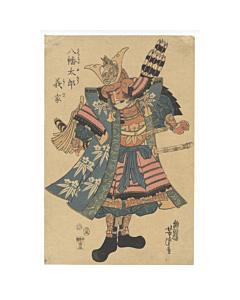 yoshitsuya utagawa, warrior, samurai