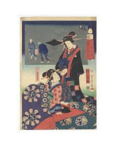 Yoshitora Utagawa, 5-7am, The Twelve Hours in the Modern World