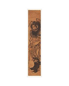 Hotta Riseki, Zhong Kui Punishing Demon, Hashira-e