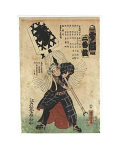 japanese fireman, tattoo design