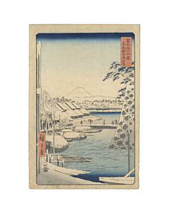 Hiroshige Ando, Toto Sukiyagashi, Thirty-six Views of Mt. Fuji