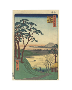 hiroshige ando, teahouse, meguro