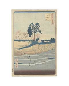 Hiroshige Ando, Goten-yama, Shinagawa, One Hundred Famous Views of Edo